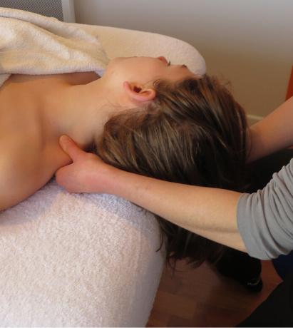 Massage crânien détente et harmonie